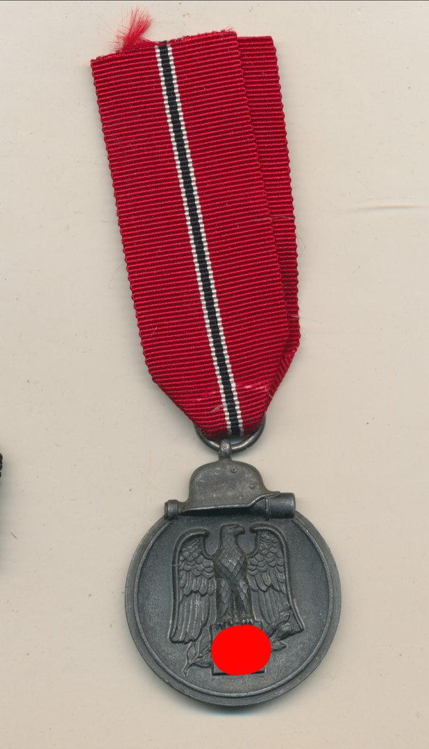 GP=18€//M Ordensband 15mm breit Winterschlacht im Osten 1941//42 Band
